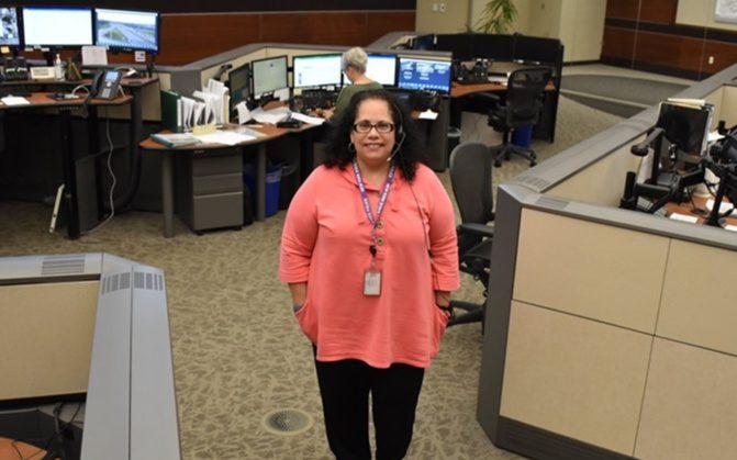 Communications Specialist Kim Carballo