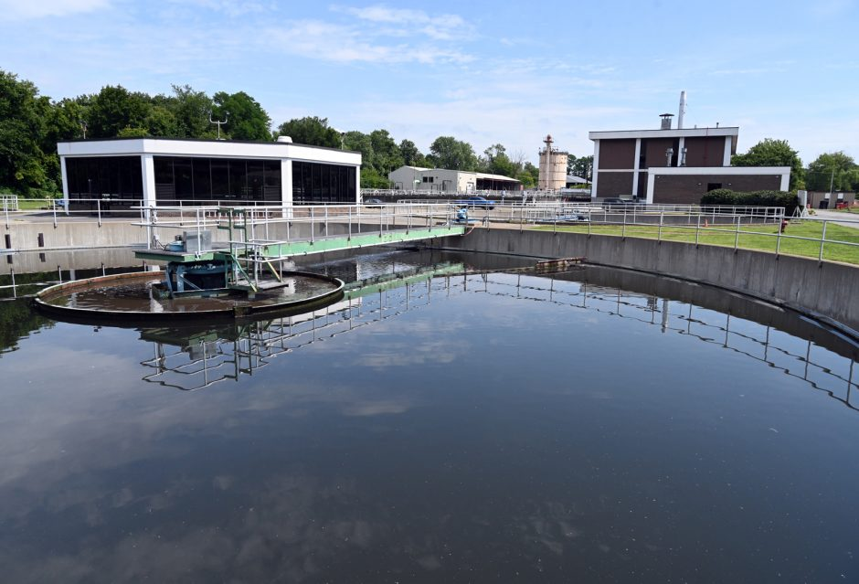 Schenectady's wastewater treatment plant processes about 12.5 million gallons of wastewater a day.