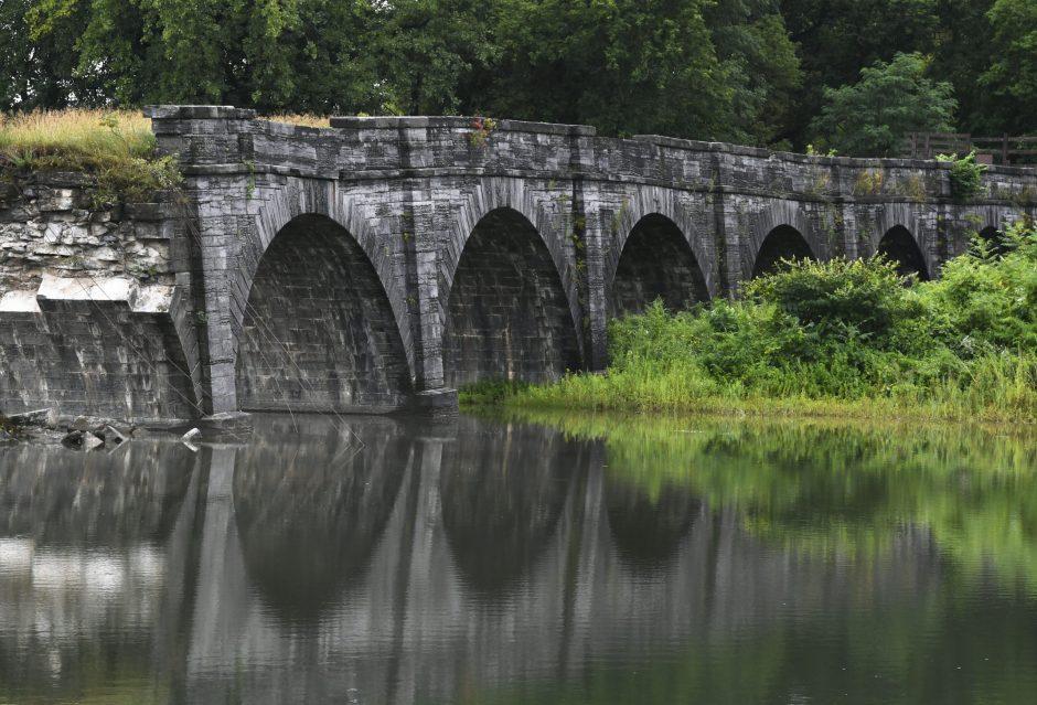 The Schoharie Crossing Bridge seen Wednesday, August 7, 2019.