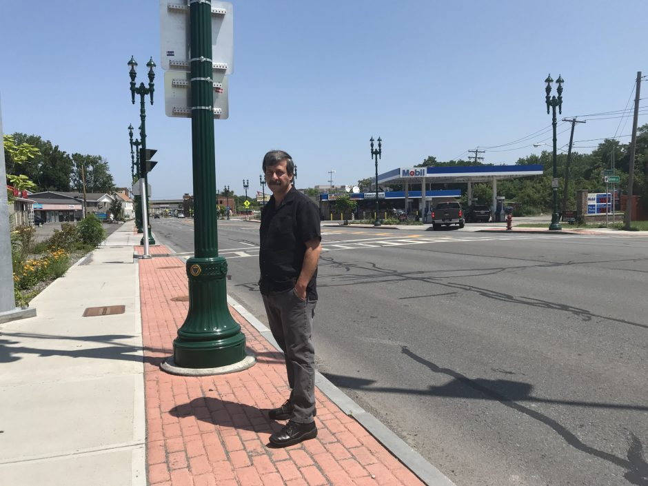 "Signal Superintendent John Coluccio is one of the architects of Schenectady's ""Smart Cities"" initiative."