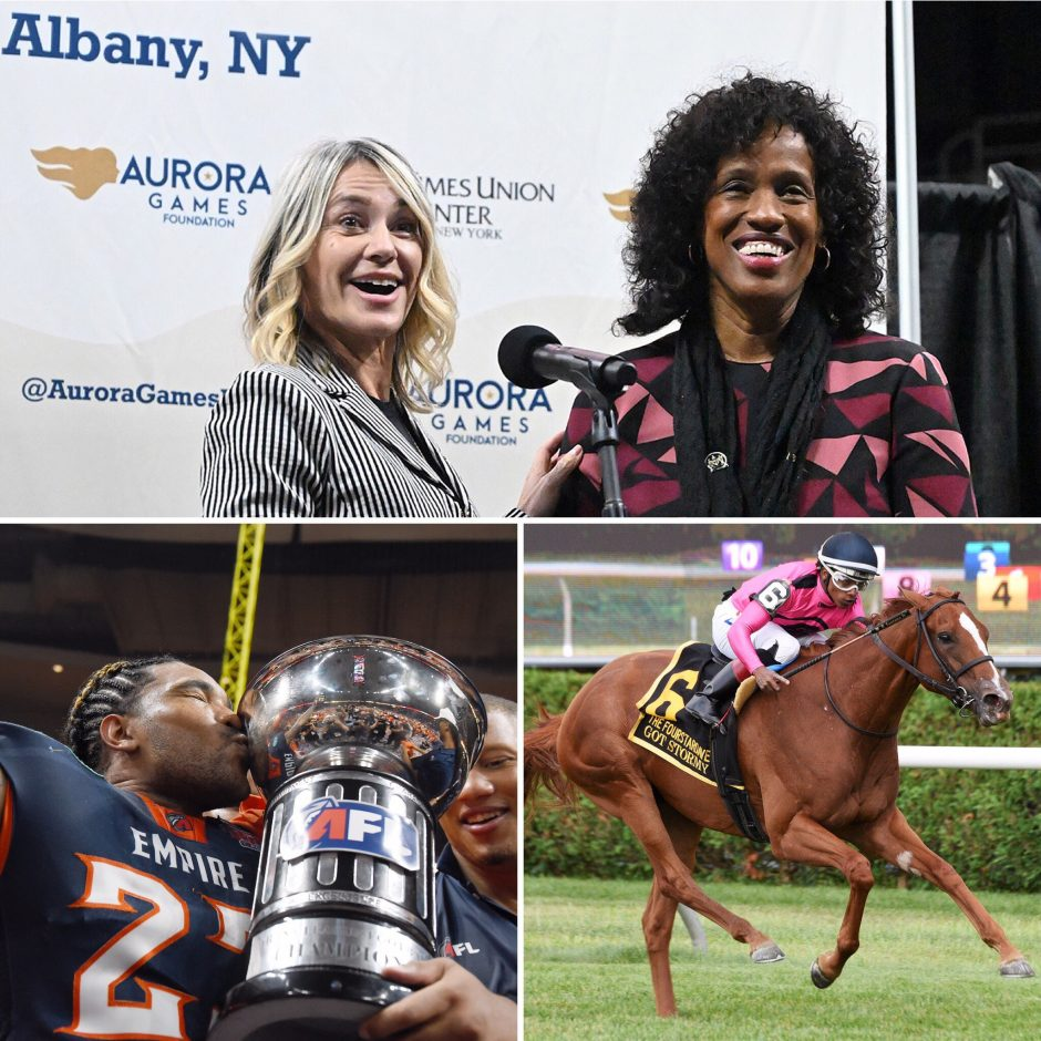 """Talking Aurora Games, ArenaBowl 32 and Saratoga horse racing on the latest """"The Parting Schotts Podcast."""""""