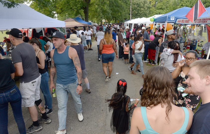 Guyanna Day 2018 was held in Grout Park in Schenectady in September, featuring food, music, games and dancing.