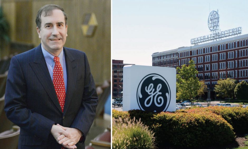 Harry Markopolos is seen in this 2013 file photo, left. General Electric in Schenectady, right.