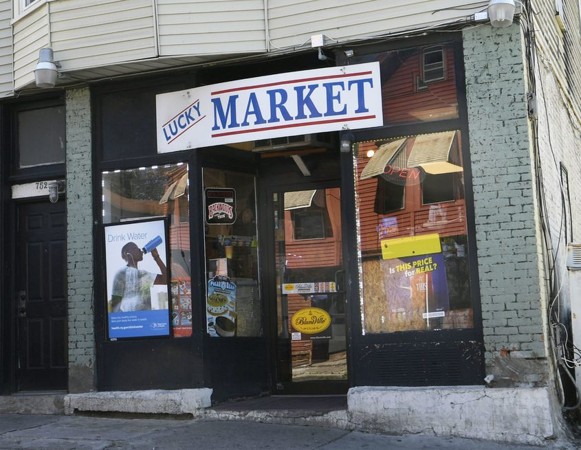 One suspect is accused of committing crimes while working at the Lucky Market at 752 Albany St. on Hamilton Hill in Schenectady.