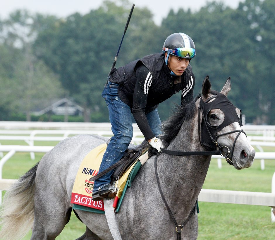 Gazette horse racing handicapper Bill Heller is going with Tacitus to win Saturday's Travers Stakes.