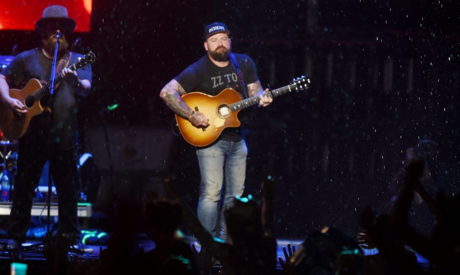 The Zac Brown Band will play Friday night at SPAC