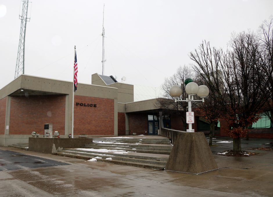 The Schenectady Police Station is pictured.