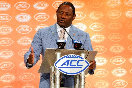 Syracuse football head coach Dino Babers takes his team to Maryland on Saturday.