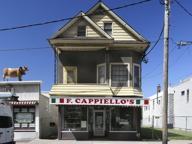 The exterior of F. Cappiello's retail shop at 510 Broadway in Schenectady as seen on Thursday, Sept. 5.