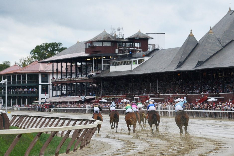 The final day at Saratoga Race Course in 2019.