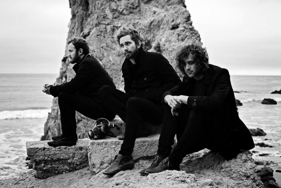 Alternative rock band The Moth & The Flame. From left, Andrew Tolman, Brandon Robbins and Mark Garbett.