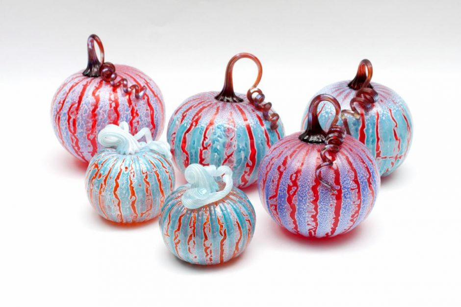 More than 1,000 hand-blown glass pumpkins will be available for sale this weekend at the Gideon Putnam Hotel.