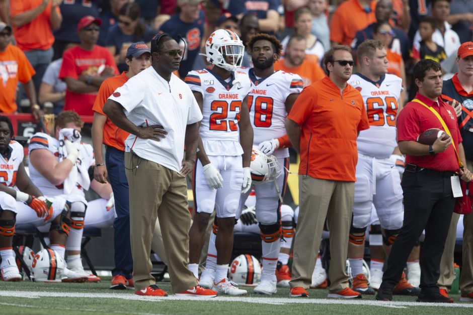 Syracuse hosts top-ranked Clemson on Saturday night at 7:30. ABC will televise the game