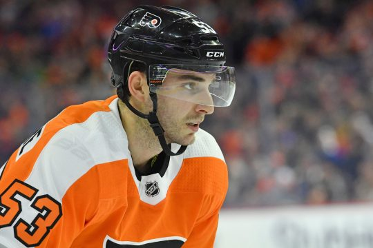 Former Union College hockey standout Shayne Gostisbehere is looking to have a bounce-back season for the Philadelphia Flyers.