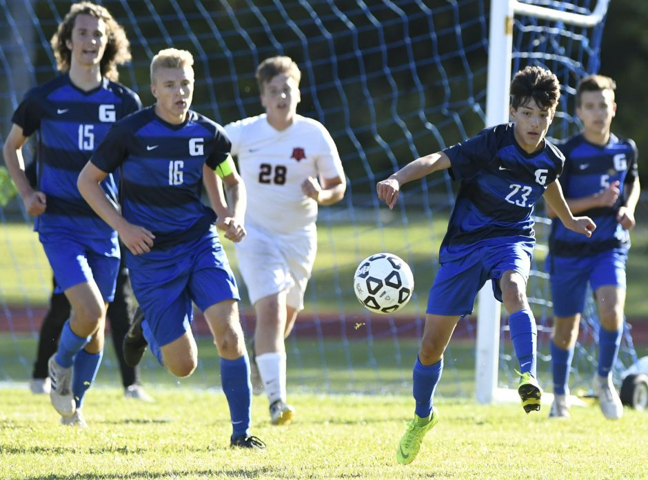Galway beat OESJ 2-1 in a Western Athletic Conference boys' soccer game Wednesday.