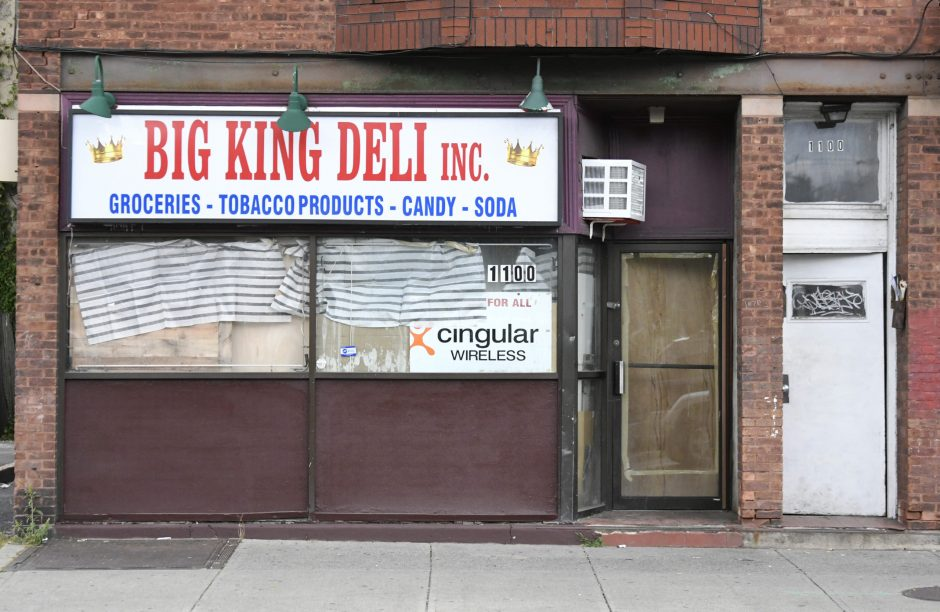 The now-closed Big King Deli at 1100 Albany St. in Schenectady is pictured.