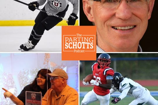 "Jack Adams, Tim Layden, baseball talk and high football discussion on ""The Parting Schotts Podcast."""