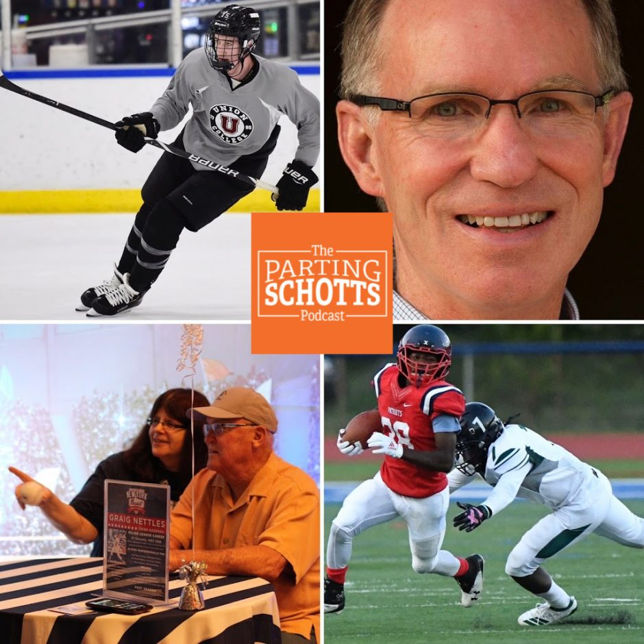 """Jack Adams, Tim Layden, baseball talk and high football discussion on """"The Parting Schotts Podcast."""""""