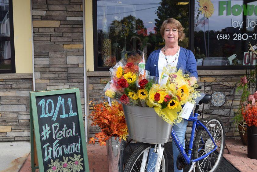 Flowers by Jo-Ann is taking part in Saturday's Harvest Festival