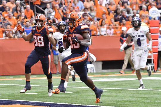 Syracuse is back in action Thursday at North Carolina State.