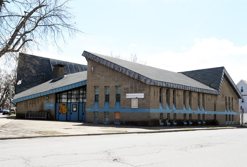 Carver Community Center is pictured in 2017.