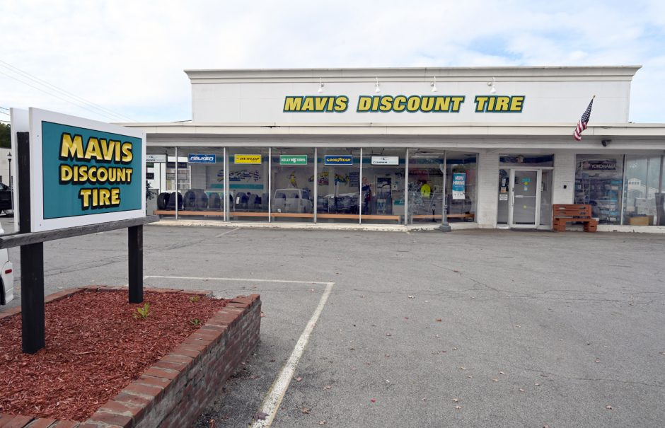 Mavis Discount Center, 45 South Broadway, Saratoga Springs.