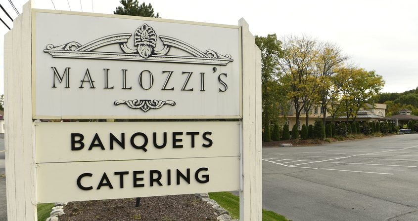 The Mallozzi's Banquet Hall on Curry Road in Rotterdam