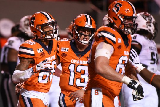 Syracuse will host Pittsburgh in an ACC Football game Friday night on ESPN.
