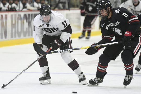 Union looks to snap its four-game losing streak when it visits fourth-ranked UMass for two games this weekend.