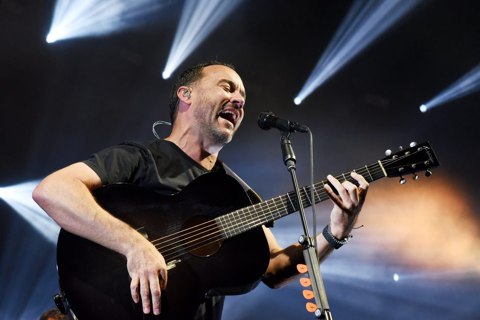 Dave Matthews performs with his band on July 12, 2019, at SPAC.
