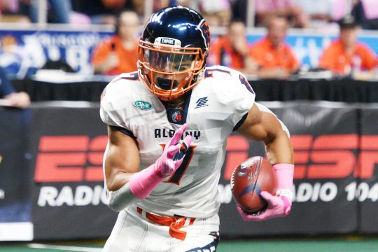 The Albany Empire's Malachi Jones was selected in Tuesday's XFL Draft by the Seattle Dragons.