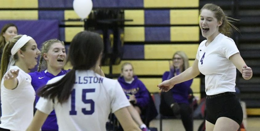 Ballston Spa defeated Schenectady in four sets Tuesday.