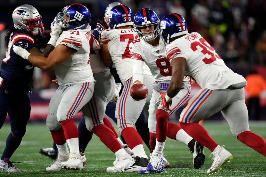 The New York Giants host the Arizona Cardinals on Sunday.