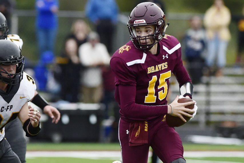 Senior John Mancini will start at quarterback for Fonda-Fultonville Friday against Stillwater.
