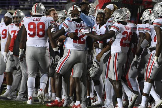 Ohio State hosts Wisconsin on Saturday.