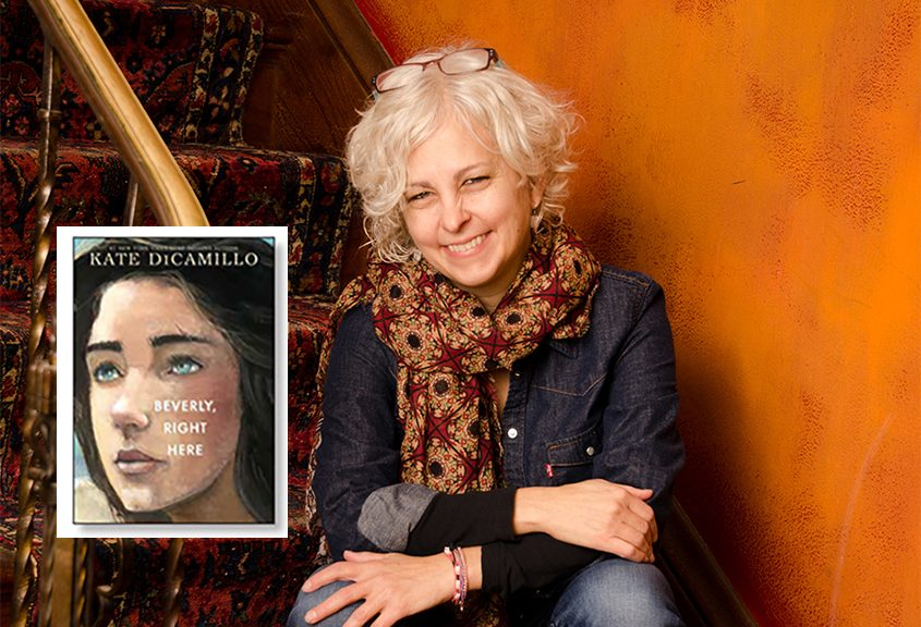 """Author Kate DiCamillo and her latest book, """"Beverly, Right Here."""""""