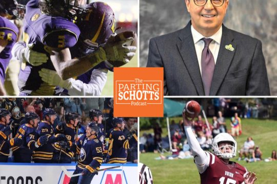 High school football, Charlie Voelker, Buffalo Sabres and Union-Ithaca football are the topics on this poadcast.