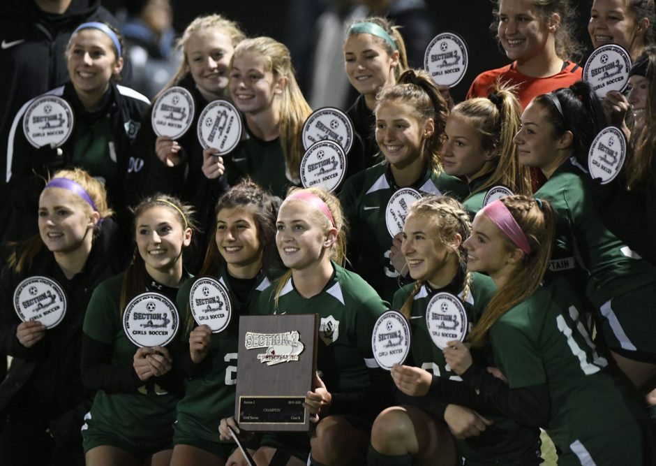 Schalmont beat Mechanicville 3-1 for the Section II Class B girls' soccer title Friday.