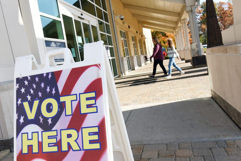 First early elections at Clifton Park- Halfmoon Public Library in Clifton Park on Saturday, October 26, 2019.