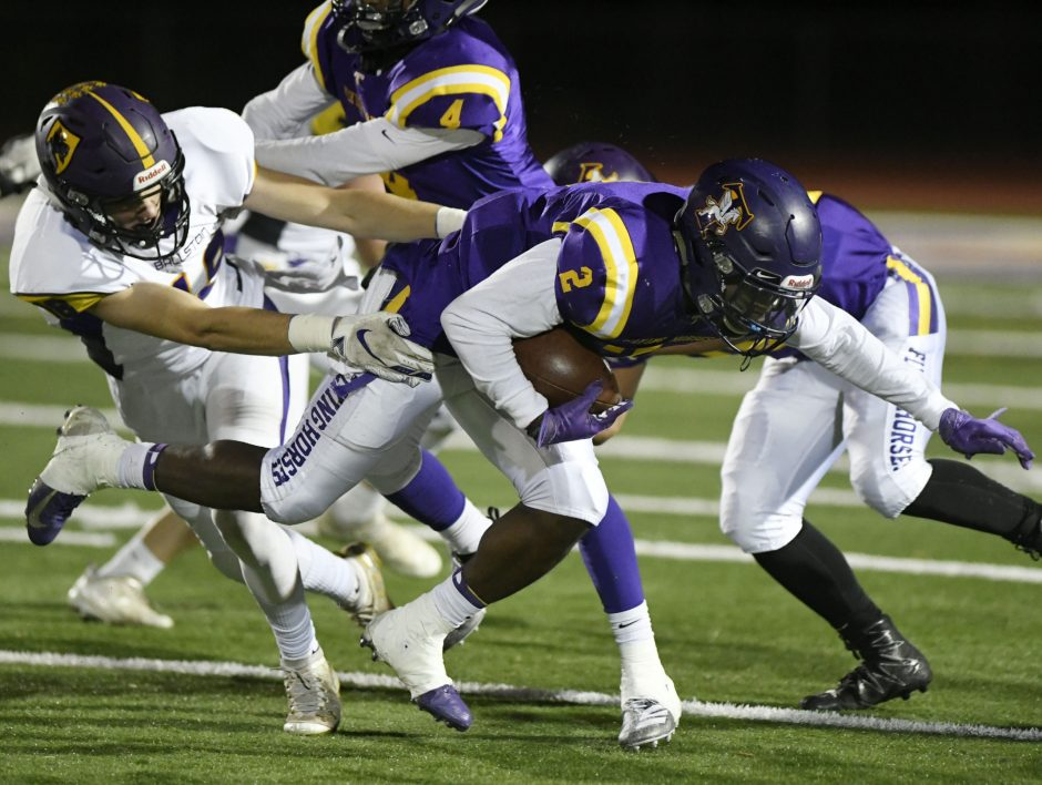 Troy beat Ballston Spa in a Section Class A semifinal football game Friday.