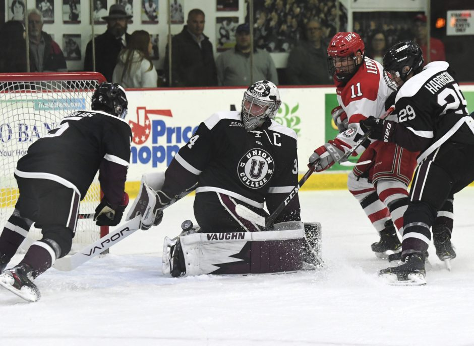 Union hosts Clarkson and St. Lawrence this weekend.