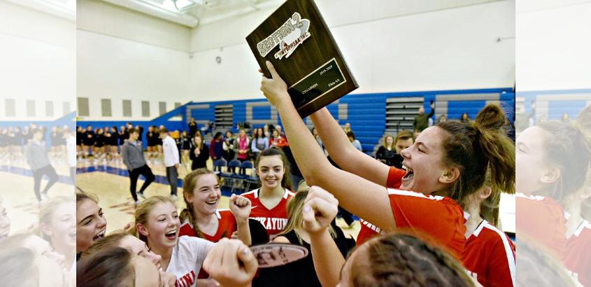 Niskayuna won the Section II Class AA girls' volleyball championship.