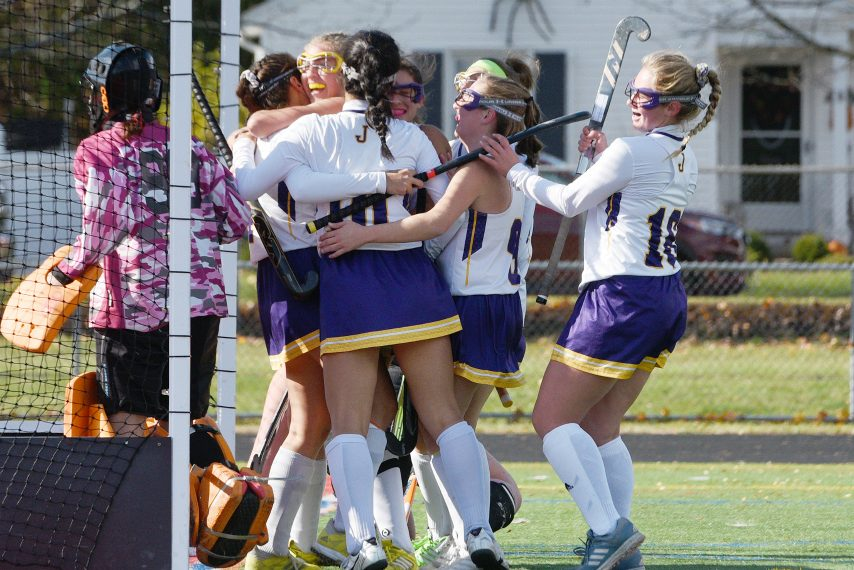 Johnstown's 19-0 field hockey teams is playing in the state Class C final four.