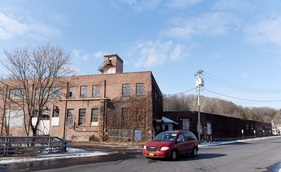 The former Haight/America Hide building at 125 Bath St. in Ballston Spa is pictured Friday.