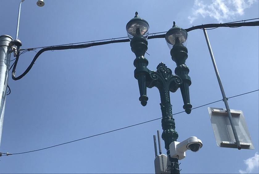 A pilot program on lower Union Street uses these wireless sensors to monitor vehicular traffic with the goal of reducing flow.