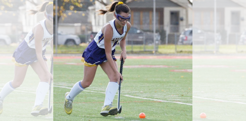 Kalena Eaton's goal with three seconds left in overtime sent Johnstown field hockey to Sunday's Class C championship game.