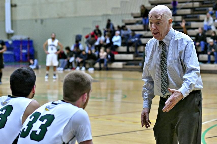 HVCC basketball coach Mike Long won his 500th career game Saturday.