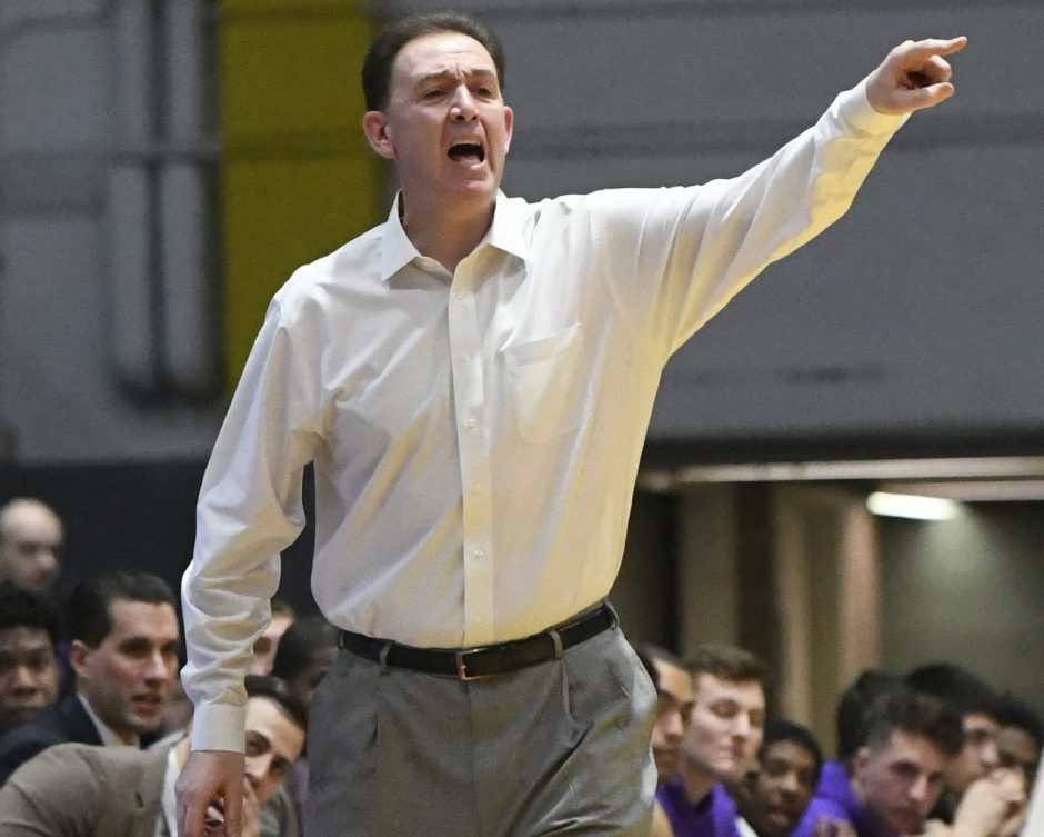 Will Brown's UAlbany basketball team lost to Manhattan on Saturday.