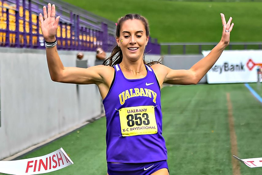 Hannah Reinhardt will compete in Saturday's national championships.
