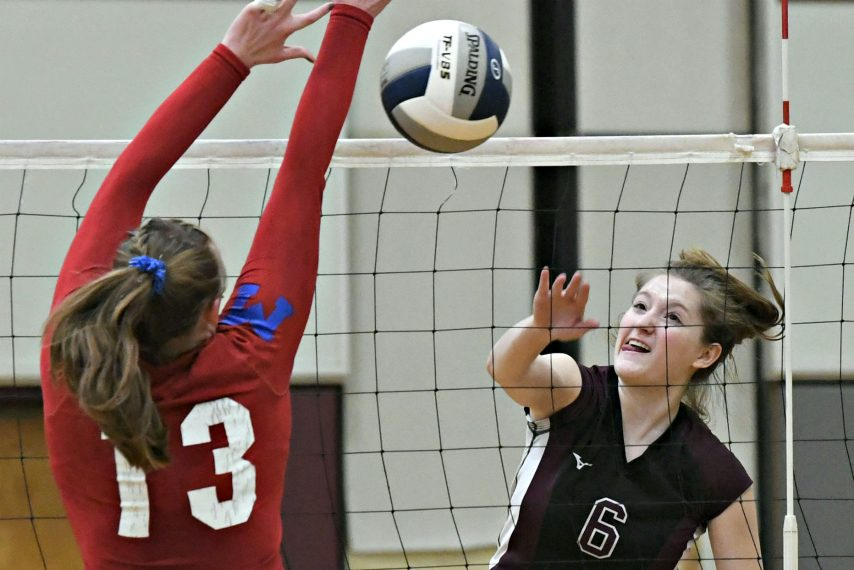 Hannah Shell and her Burnt Hills teammates are headed to the state volleyball semifinals.